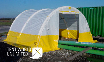 TENTES DE CHANTIER Tent WORLD UNLIMITED